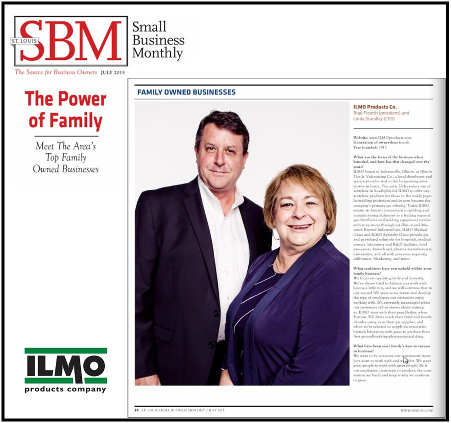 July 2015 Top Family Business Award - article with cover2